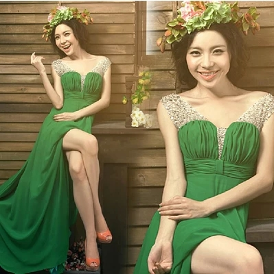 Long Evening dress 2015 new arrival fashion women chiffon formal dresses party evening elegant evening gowns vestidos de fiesta(China (Mainland))