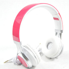 New Wired Stereo Foldable Headset Handsfree Headphones Earphone with Micphone for iPhone for Galaxy for HTC for sony all phone