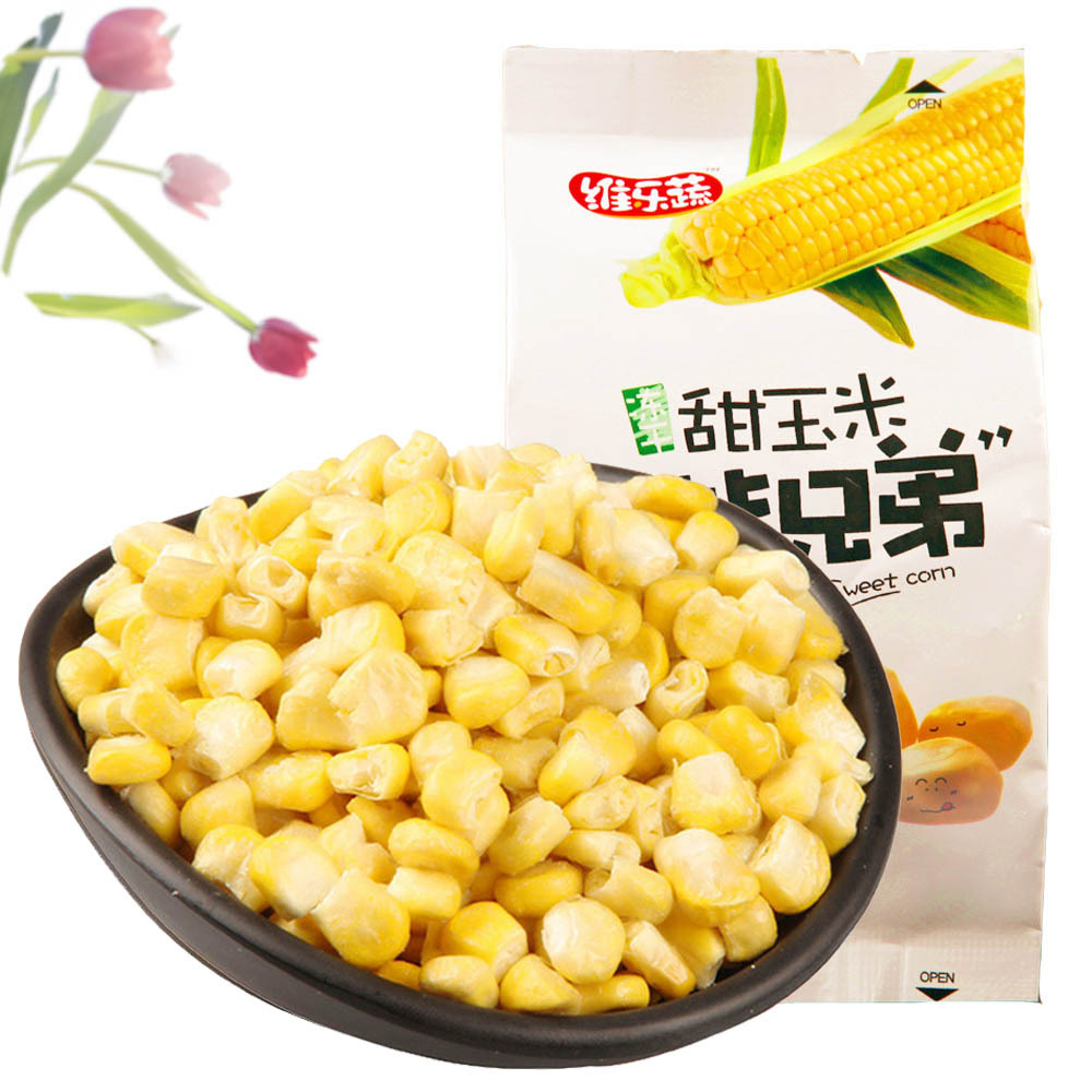 Free shipping freeze dried sweet corn dried vegetable healthy snack food sweets and candy food 40g*10 bags 2F61<br><br>Aliexpress