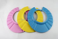 1pcs Baby Shower wash hair Shield Hat cap Protects your baby or toddler's eyes Worldwide
