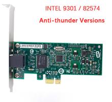 High Quanlity Intel 82574 Chip Compute Products 1 port Gigabit Ethernet Server Adapter Anti-thunder Version PCI-E  RJ45 Port