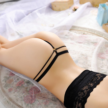 Free Shipping sexy bandage g strings thongs women panties transparent underwear lace briefs erotic g-strings tangas vs lingerie(China (Mainland))