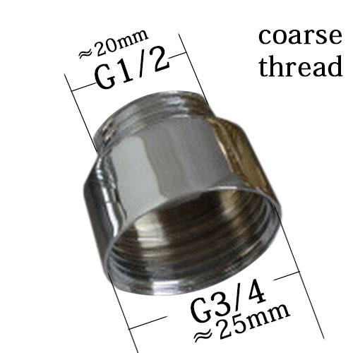 22 mm male thread transfer 18 mm male connector shower bathroom kitchen brass chrome faucet accessories garden connected hose