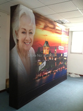 10ft Pop Up Display Stand, Fabric Pop Up Banner Stand(FreeShipping)(China (Mainland))