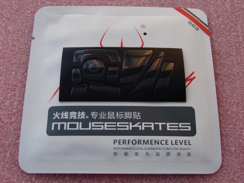 1 set/pack 0.6mm original Hotline games mouse glide mouse skates for Saitek Cyborg RAT3 RAT5 RAT7 RAT9 MMO7 teflon material(China (Mainland))