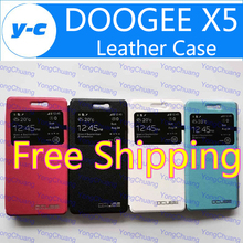Buy Doogee X5 Case High View Window Protective Flip Leather Shell Back Cover DOOGEE X5 PRO Cell Phone-Free Ship Co.,Ltd) for $2.79 in AliExpress store