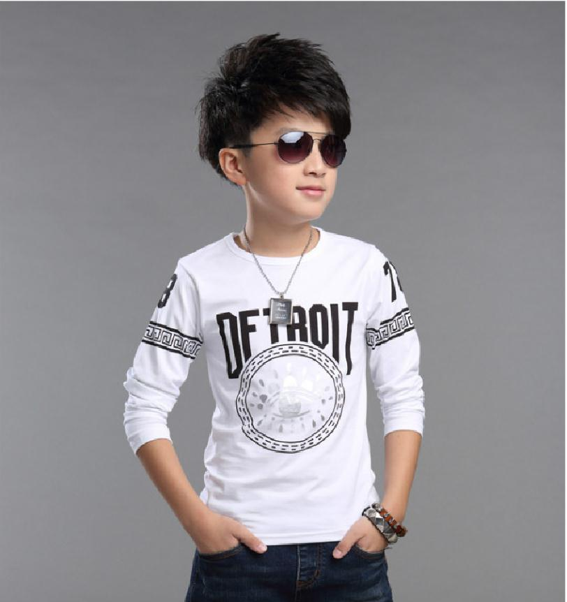 2016 baby boys t shirts spring autumn cartoon children clothes kids long sleeve t shirts brand vestidos infantil boy tops tees(China (Mainland))