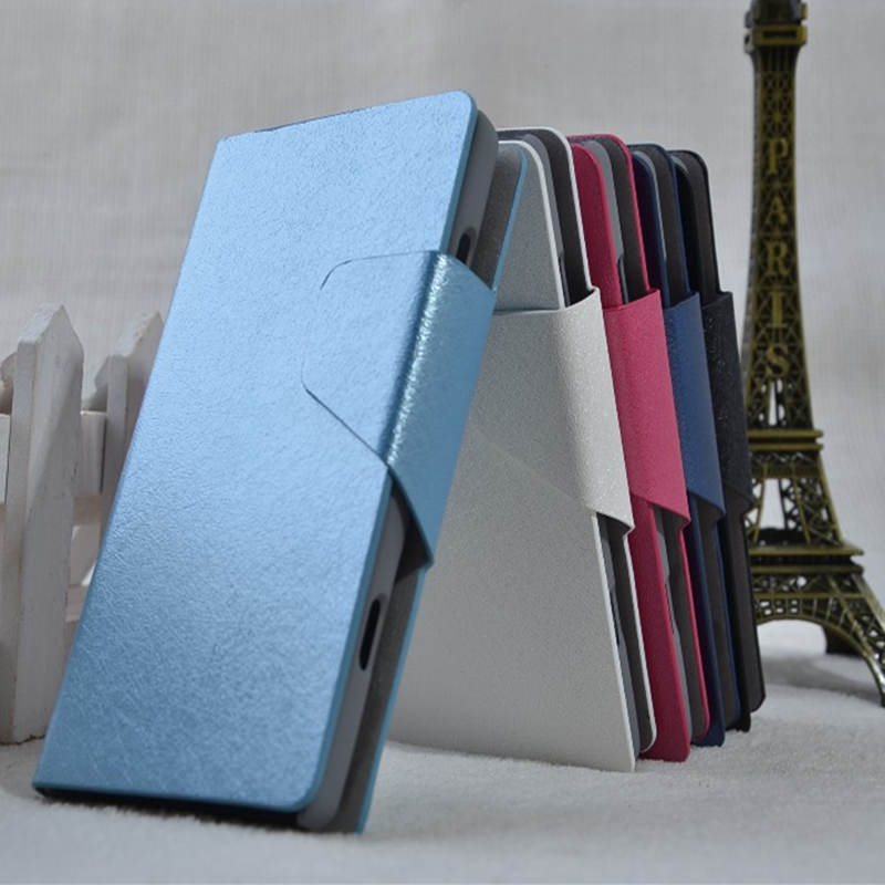 Coque Fundas For Samsung 8700 Silk Leather Flip Cover With Card Holder Stand Case For Samsung Omnia 7 I8700 Capa Para(China (Mainland))