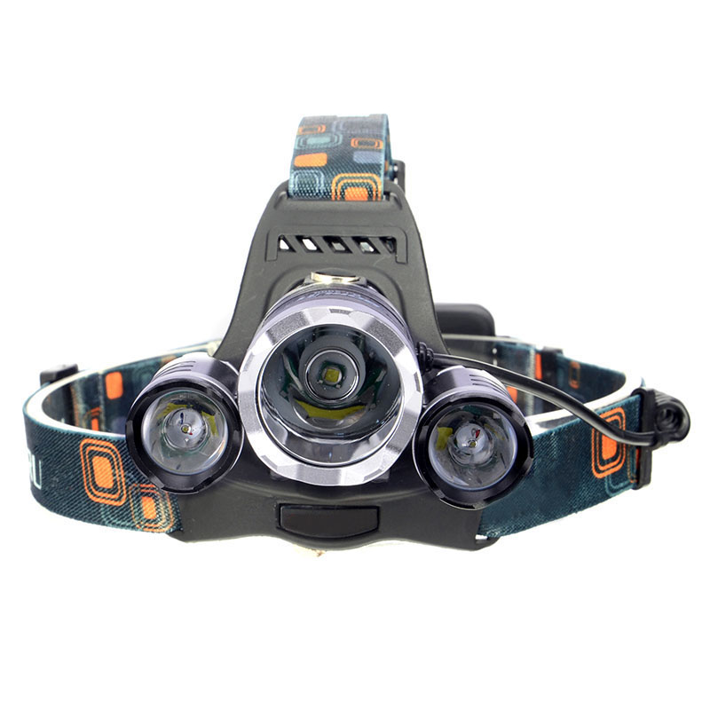 CREE LED Headlight Head lamp t6 led 4 modes Rechargeable AND Waterproof Suitable Cycling Camping Hiking - Smart Pet Electronic Technology Co., Ltd. store