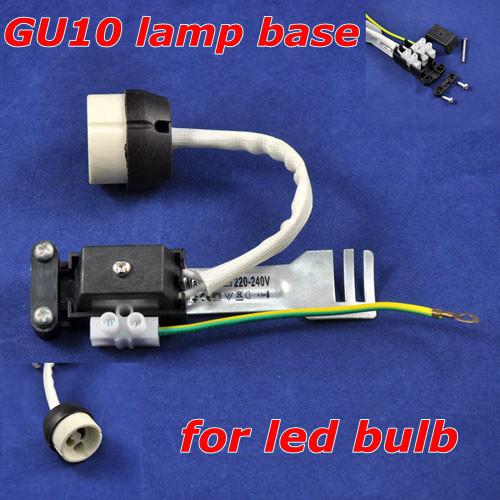 Airmail shipping,Hot!!2,GU10 led lamp base holder socket light bulb,Ceramic,Retail,s,Dropshipping