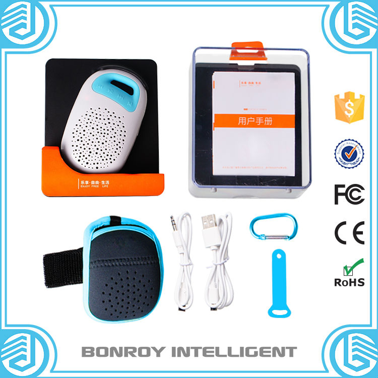 Professional waterproof multifunctional speaker bluetooth manual BR-F3 with universal certificates(China (Mainland))