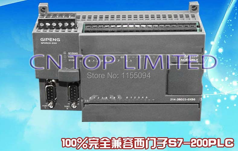 14 input 10 transistor output PLC CPU224TH-24 replace S7-200 6ES7214-1AD23-0XB0 Support siemens original expansion module + 3PPI(China (Mainland))