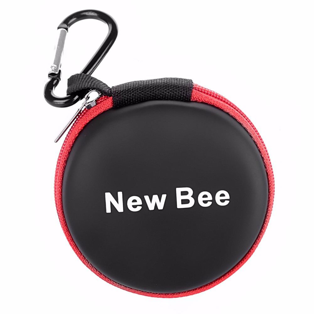 image for New Bee Fashion Portable Earphones Case Bluetooth Earbuds Bag High Qua