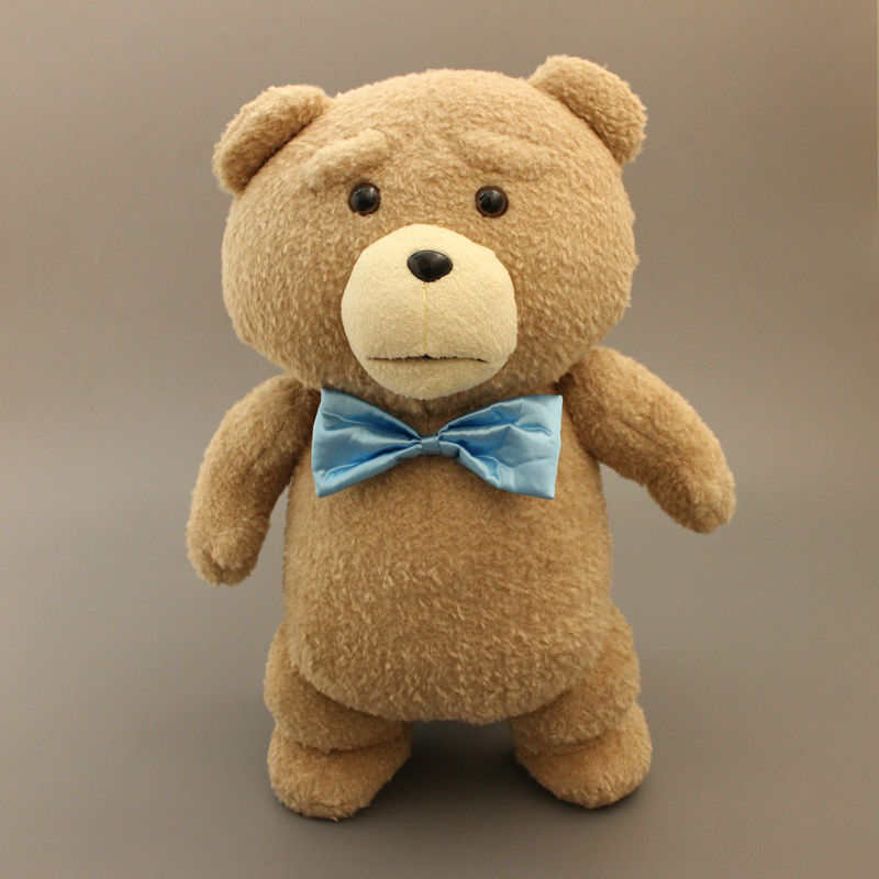 Toys For Ted : New teddy bear ted plush toys with blue tie soft stuffed
