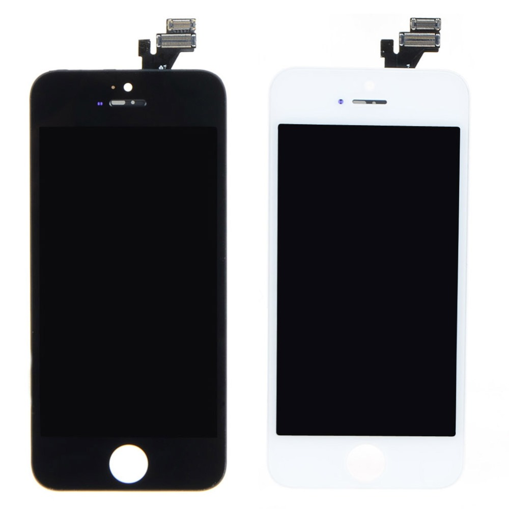 A7 A LCD Display+Touch Screen Digitizer Assembly  For iPhone 5 5G White VAG76 T15