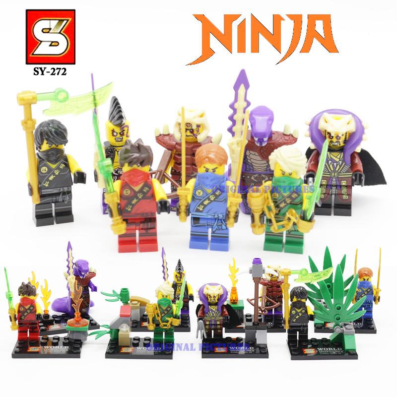 Гаджет  SY272 Ninjago Minifigures Building Blocks DC Marvel Super Heroes Avengers Minifigures hero ninjago Iran Man Hulk Toy Story 3  None Игрушки и Хобби