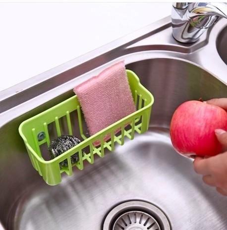 Гаджет  2492-7 sink drain basket storage basket candy-colored cloth ball clean dish towel storage Kitchen Gadgets None Строительство и Недвижимость