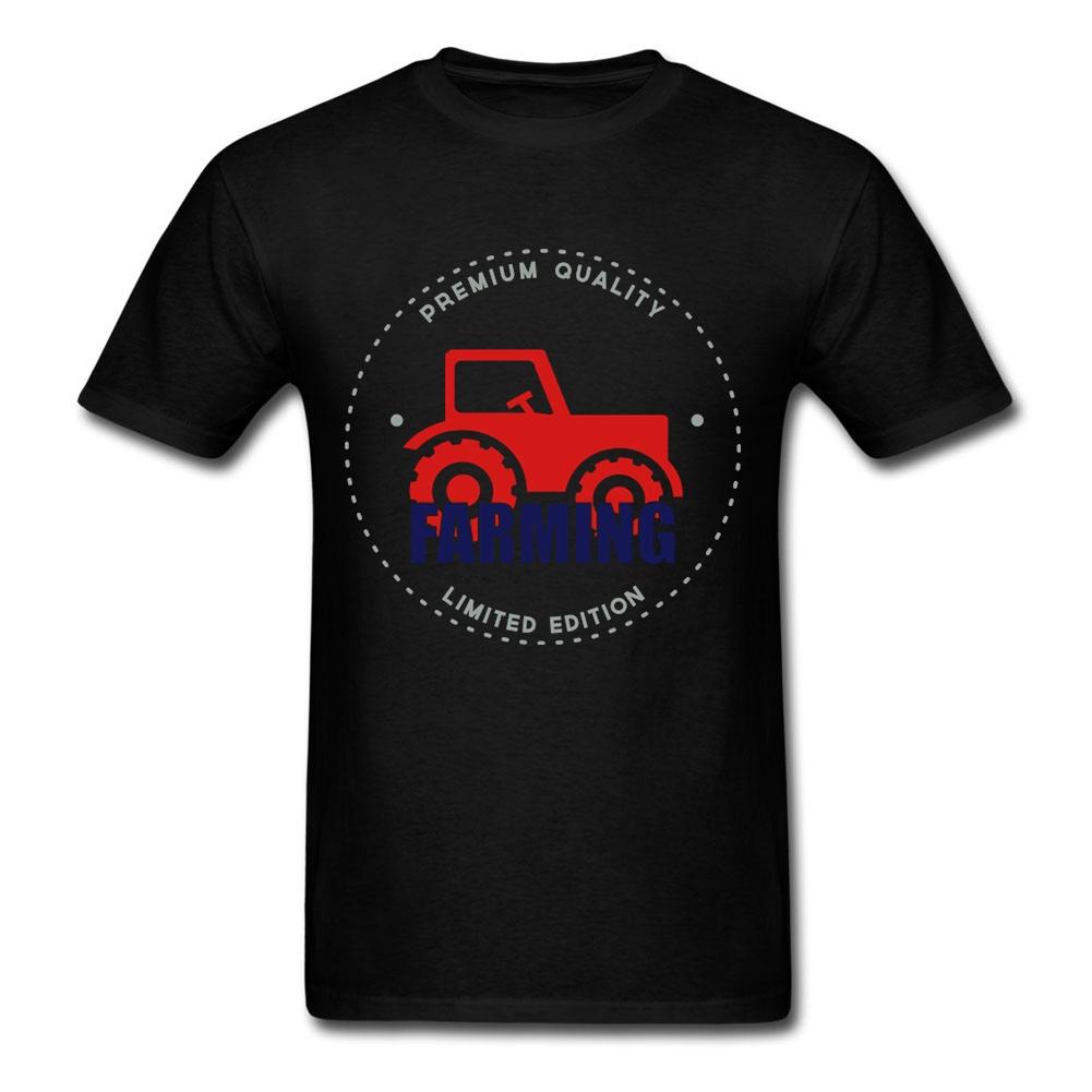 Low Price Teenage Farmer Farming T Shirt Slogans Crewneck Exercise Tee Teenage O-Neck Tees(China (Mainland))