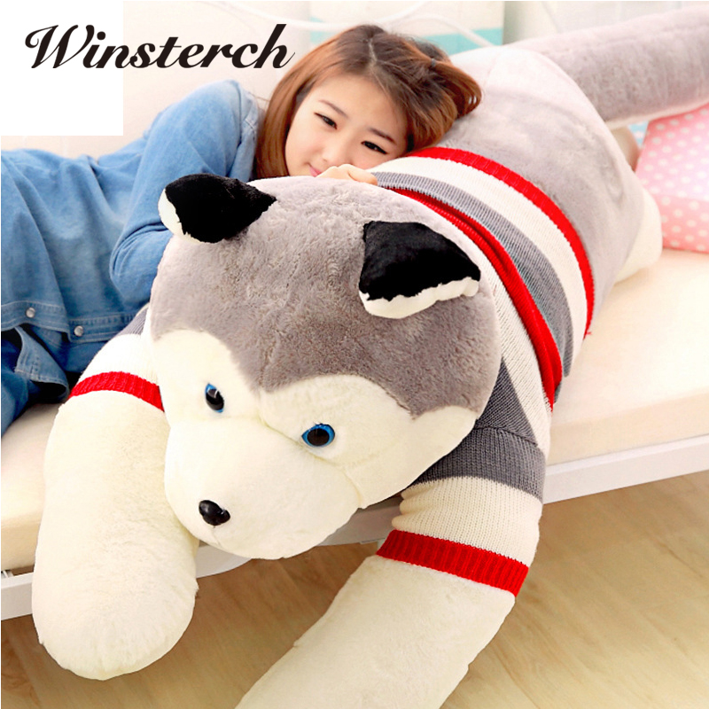 Online Buy Wholesale Siberian Husky Stuffed Animal From
