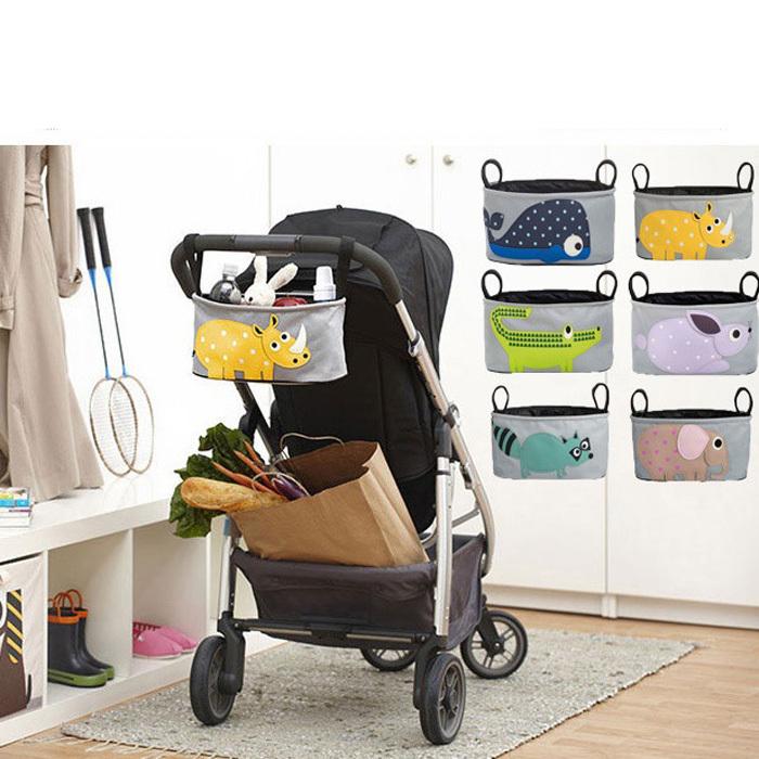 Baby Stroller Organizer Baby Carriage Pram Cart Polyester Bottle Diaper Toy Bag(China (Mainland))