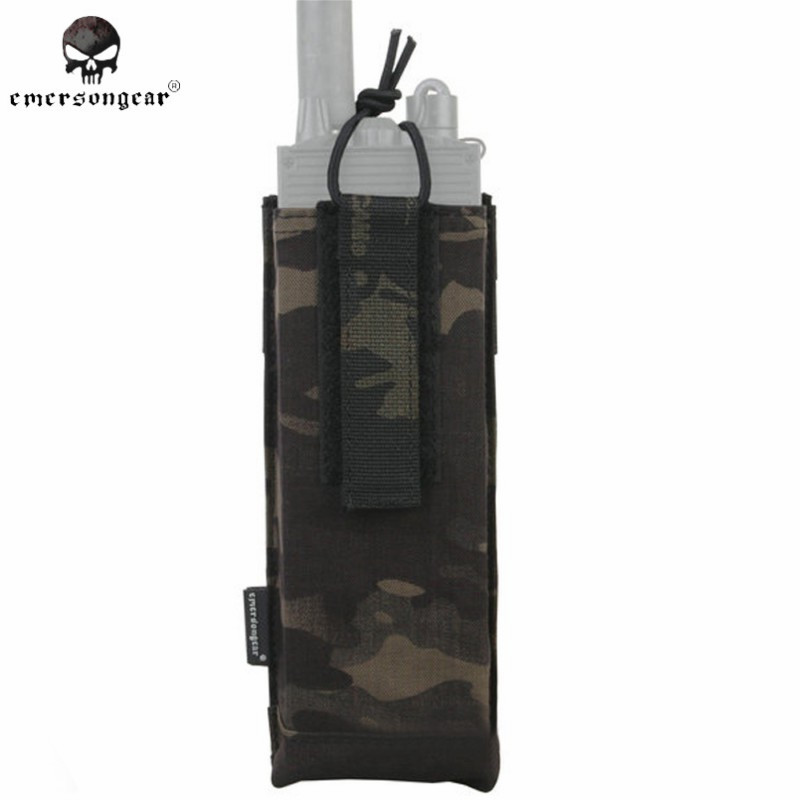 Emerson Molle PRC 148/152 Radio Pouch CP AVS Style Radio Case Tactical Walkie Talkie Holster Hunting Accessories EM8334 MCBK ^