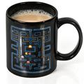 Free shipping 1 Piece Pacman Ceramic Mug Pac Man Heat Changing Mug 300ml