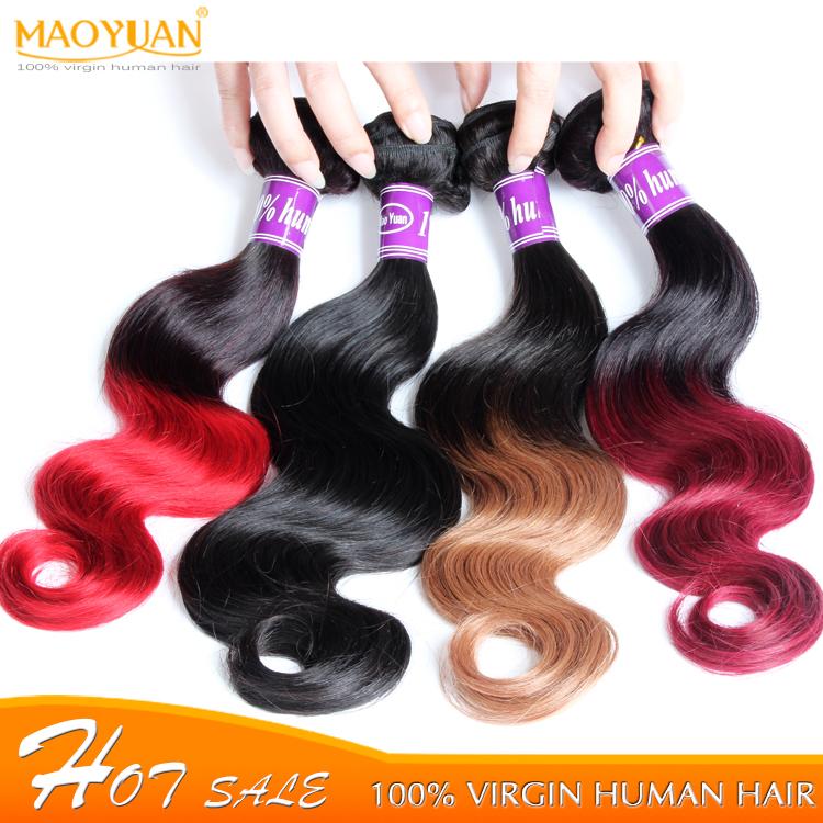 Ombre Human Hair Extensions 6A Brazilian Virgin Hair Body Wave 3pcs Cheap Brazilian Human Hair Weave Bundles Rosa Hair Products<br><br>Aliexpress