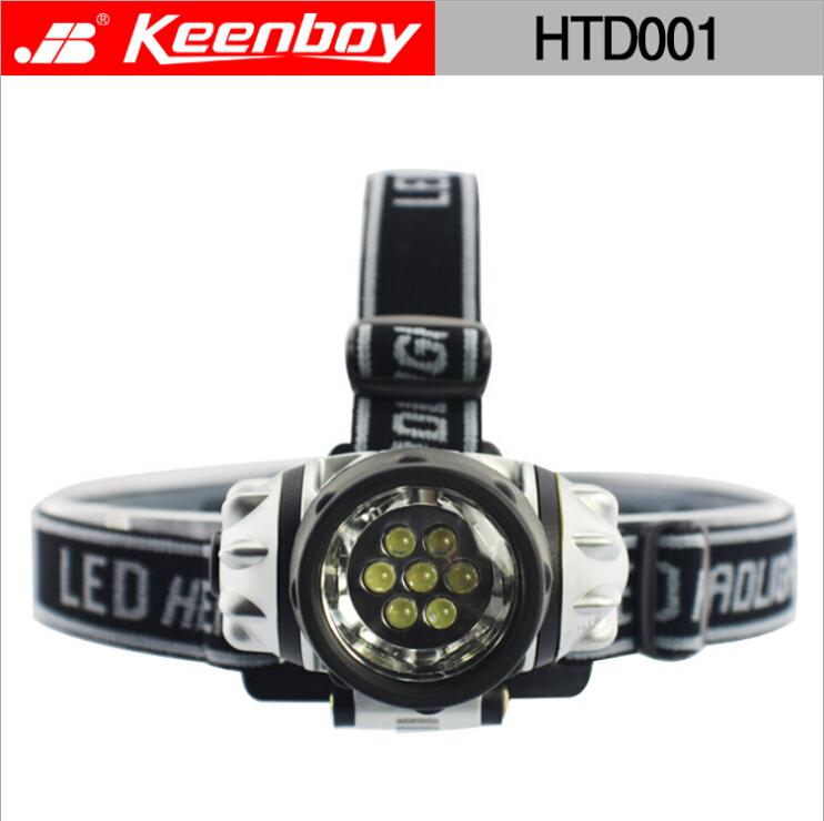7 led camping/ fishing head lamp light Outdoor lighting car lantern lights HTD001 - WINWIN SPORTSWEAR store