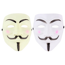 1pcs New V for Vendetta Anonymous Movie Adult Men Mask Halloween Costume Cool Hot Worldwide