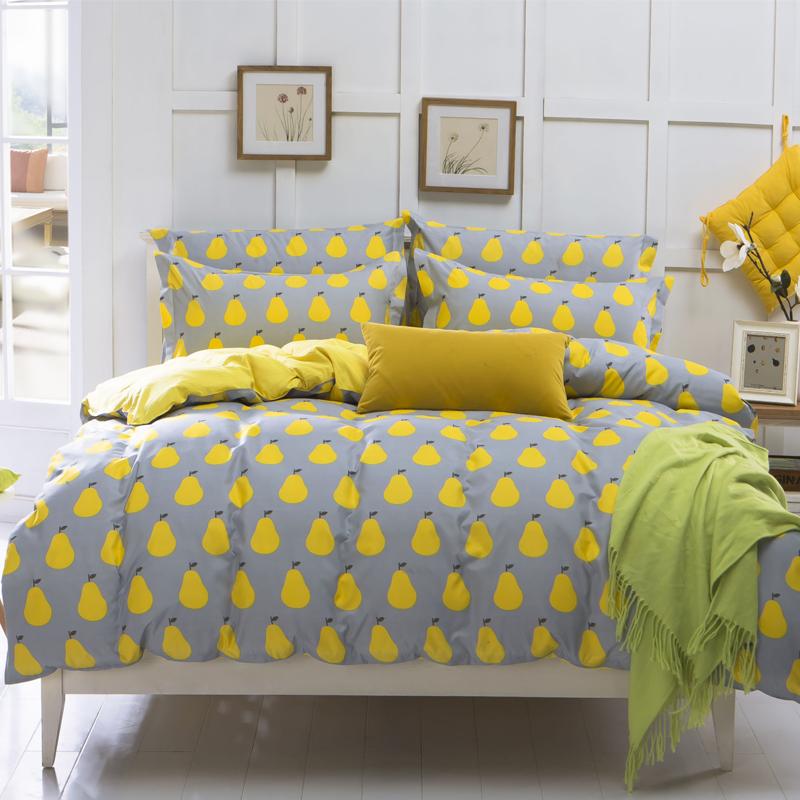 Textile piece set cotton fashion personalized piece set piece set comfortable print(China (Mainland))