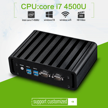 Core i7 4500u dual-core 1.7ghz with 4G RAM for mini pc computer x31-i7G with HDMI+VGA and high performance use to commercial pc