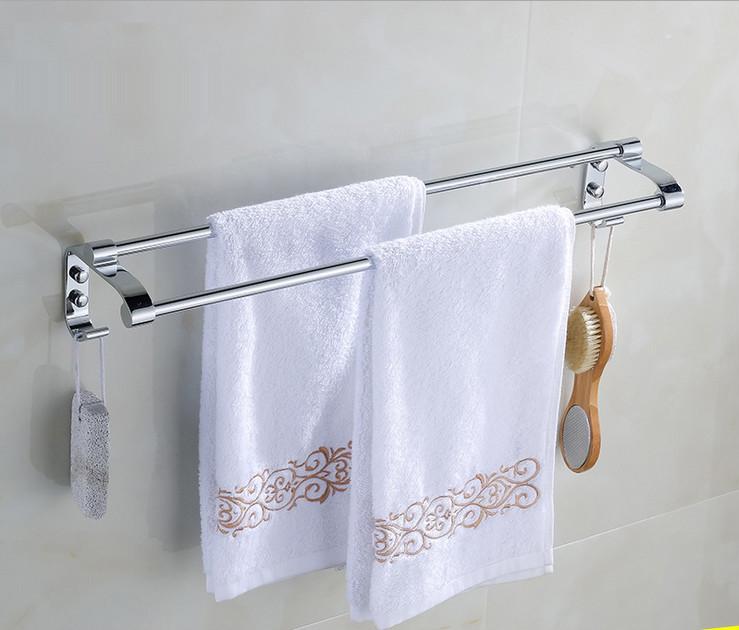 Popular bamboo towel bar buy cheap bamboo towel bar lots for Bathroom accessories racks