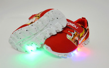 2016 New brand cute LED lighted children sneakers Cute Cool boys girls shoes high quality comfortable kids shoes children shoes(China (Mainland))