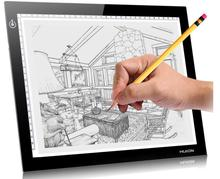 Huion L4S A4 Graphic Led Light Pad/Copy Tracing Board + Glove