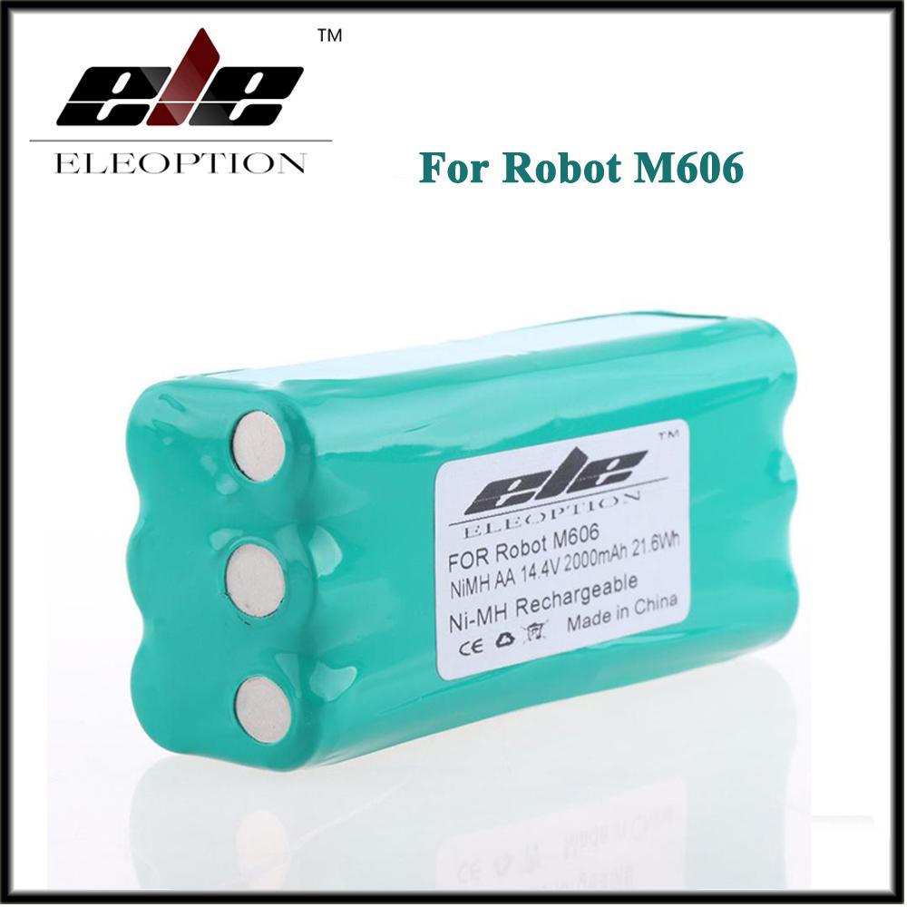 Eleoption 14.4V 2000mAh 2.0Ah Ni-MH Replacement Vacuum Battery for Libero Vacuum 0606004, M606 14.4 Volt(China (Mainland))