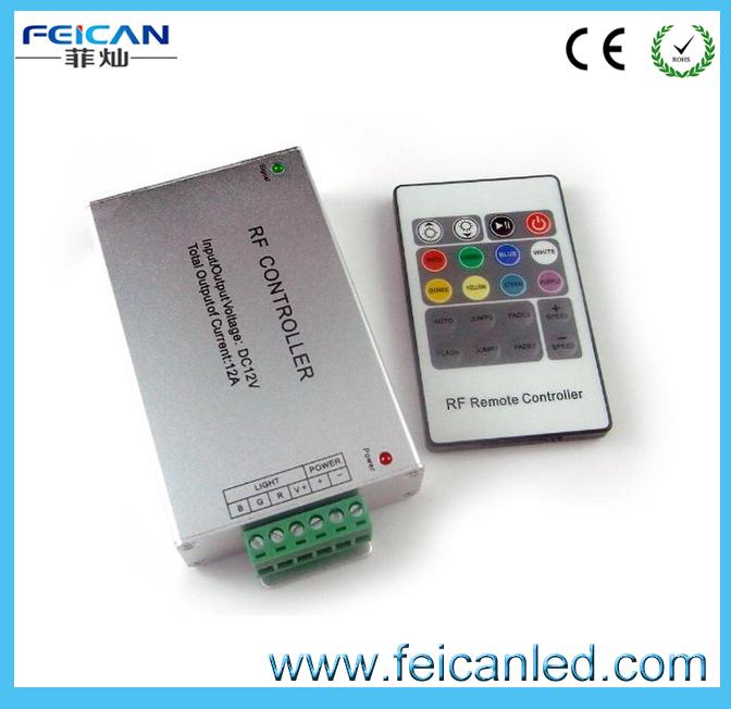 Free shipping RF20 keys remote control led lights controller(China (Mainland))