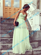 2015 New In Stock US Size 4-18 Green/Purple/Royal Blue Long Bridesmaid Dress Prom Dress Robe Demoiselle D'honneur(China (Mainland))