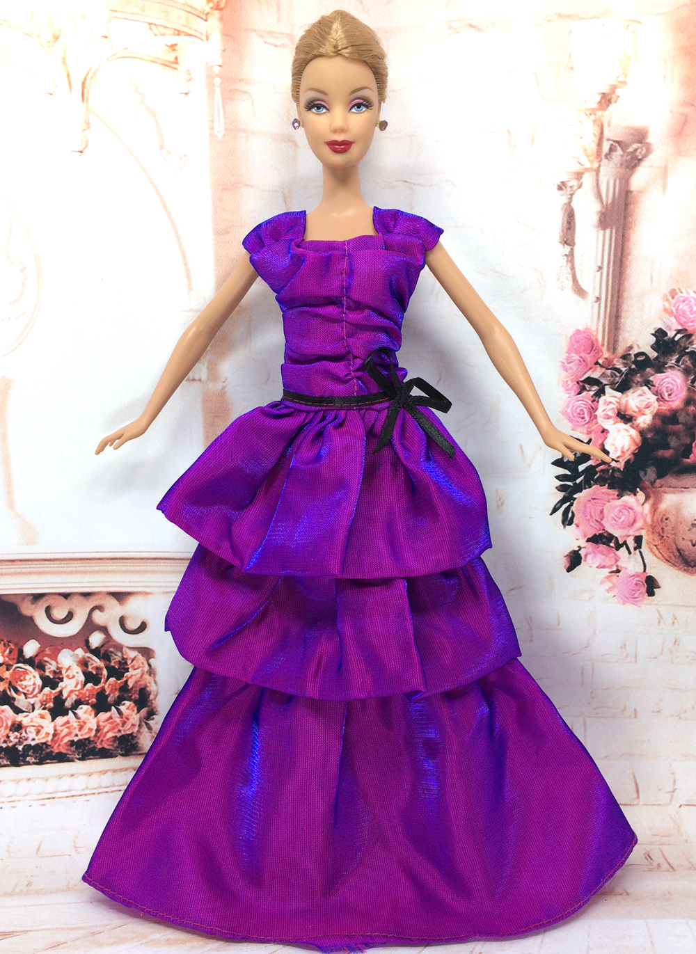 Attractive barbie doll wedding dress pictures princess for Barbie wedding dresses for sale
