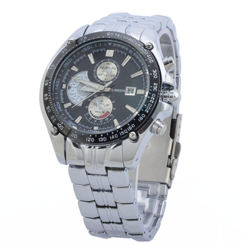 CURREN Branded Calendar Military Watches,Man Mountaineering outdoor sports Watch 3 small sub dials without functions(China (Mainland))