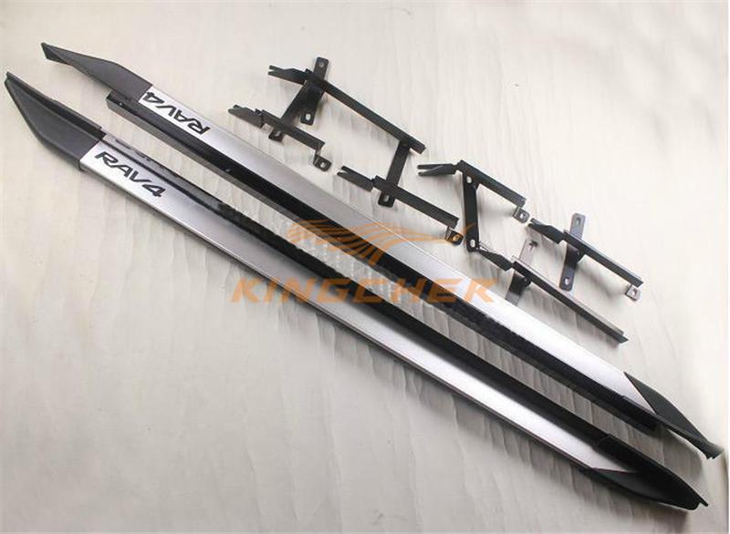 OEM aluminium running board side step Nerf bar for Toyota RAV4 2009 2010 2011 2012(China (Mainland))