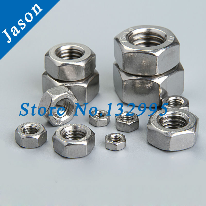 M18*1.5  Fine thread hex nut Stainless steel A2  SUS 304<br><br>Aliexpress
