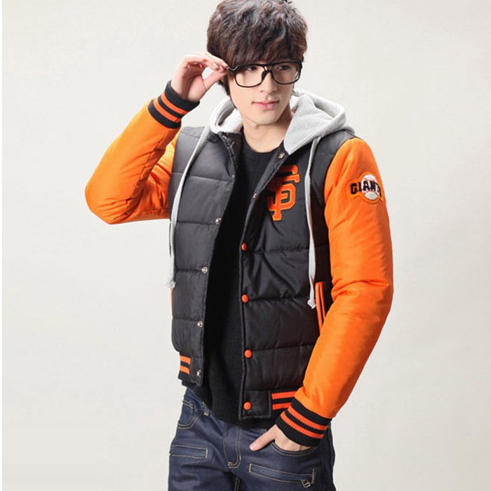 2013 new mens casual embroidery baseball uniform jacket