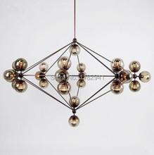 Free shipping 10 head bulbs DNA bubble glass ball pendant light Modo magic bean pendant light(China (Mainland))