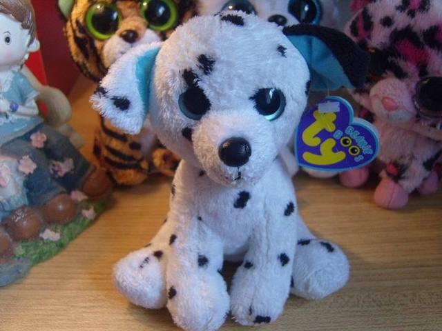 Коллекция шапочки младенцев большие глаза плюшевые игрушки куклы 6 дюймов собака пожарный гидрант