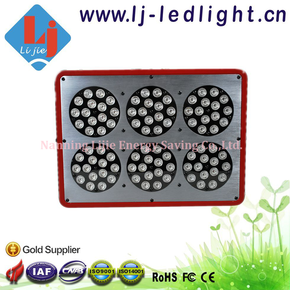 270W Apollo 6 LED Grow Light Full Spectrum with Lens for Greenhouse, Hydroponic System with CE,FCC,RoHS Approved(China (Mainland))