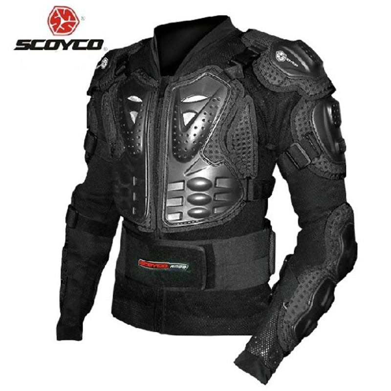 SCOYCO Motorcycle Racing Armor Protector Motocross Off-Road Chest Body Armour Protection Jacket Vest Clothing Protective Gear