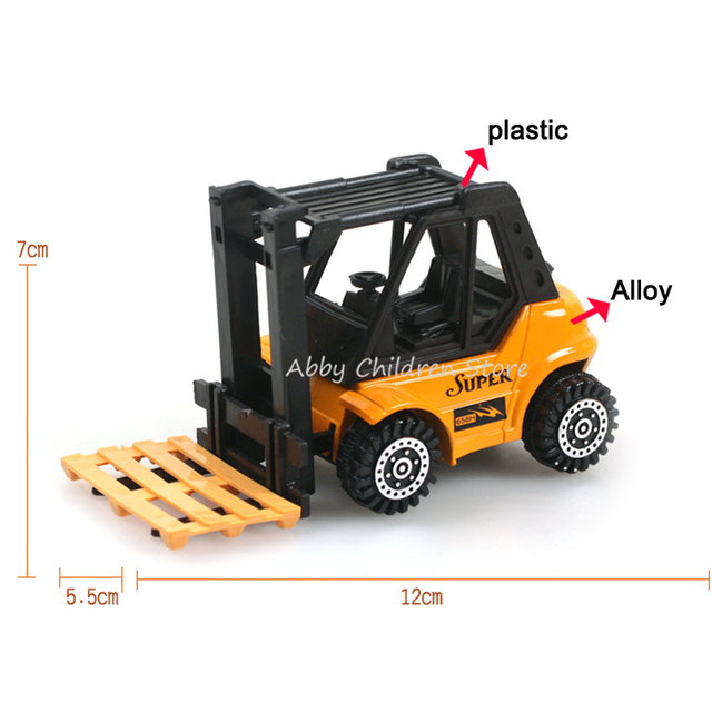Hot Wheels Toy Car Model Mini Car Toy Alloy Plastic Truck Excavator Model Children Kids Boy Educational  Learning Birthday Gifts