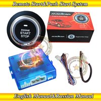 magicar russian push start button push stop engine remote start/stop engine by OEM remote key or alarm remote start time setting