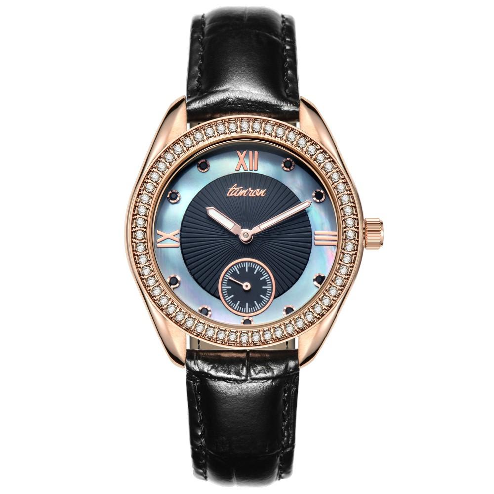 2016 топ люксовый бренд япония движение моды женщин смотреть водонепроницаемый световой натуральная кожа повседневная diamond dial женские часы