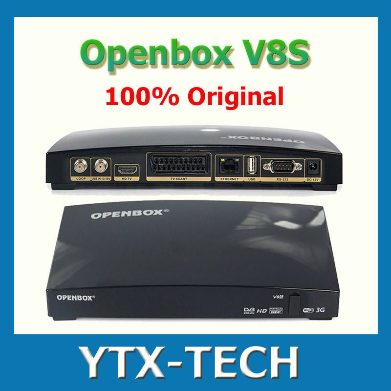 Openbox V8S HDMI 1080p PVR FTA HD Satellite TV Receiver DVB-S2 Wifi Skybox DVB Set-top Boxes Television(China (Mainland))